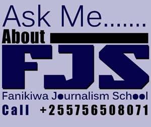 ask me about fanikiwa journalism